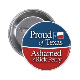Proud of Texas Button