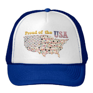 Proud of the USA Trucker Hat
