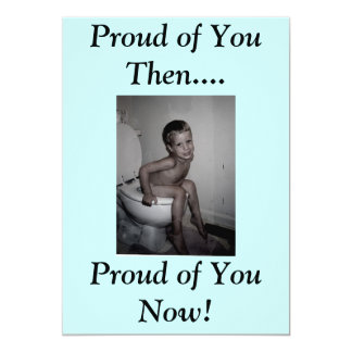 Proud of You Then...., Proud of ... Card