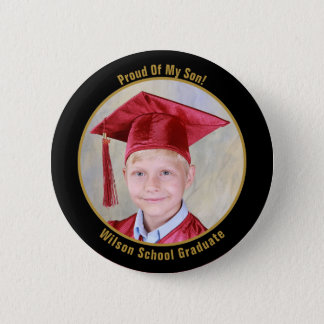 Proud Of Your Graduate Photo Button