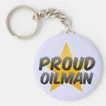 Proud Oilman Keychain