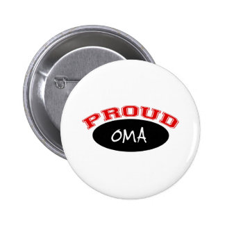Proud Oma (Black and Red) Pins