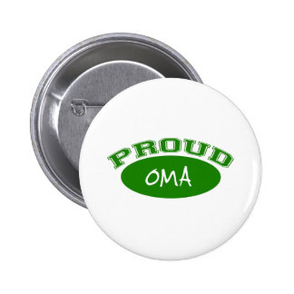 Proud Oma (Green) Pinback Button