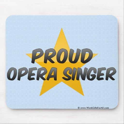 Proud Opera Singer Mousepads