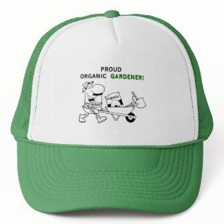 Proud Organic Gardener Tshirts and Gifts hat