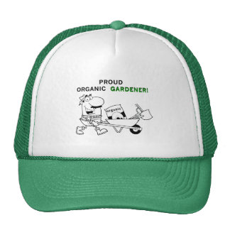 Proud Organic Gardener Tshirts and Gifts Trucker Hat