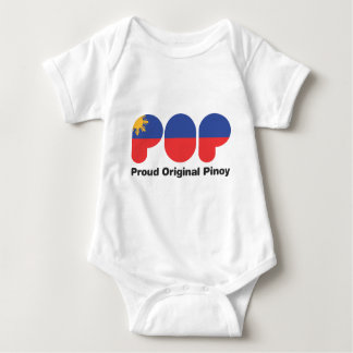 PROUD ORIGINAL PINOY wht  (TM) Baby Bodysuit