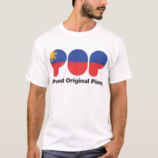PROUD ORIGINAL PINOY wht  (TM) T-Shirt
