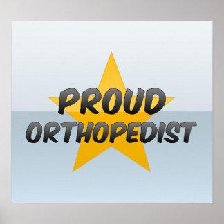 Proud Orthopedist Poster