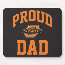 Proud OSU Dad Mouse Pad