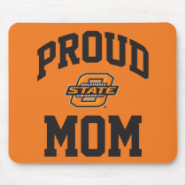 Proud OSU Mom Mouse Pad