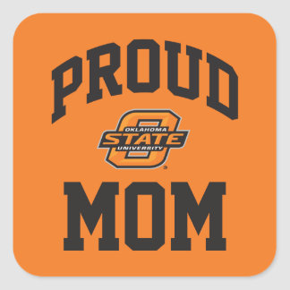 Proud OSU Mom Square Sticker