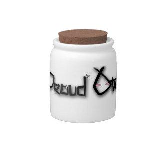 Proud Otaku Candy Jar