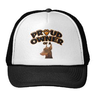 Proud Owner of a Doberman Trucker Hat