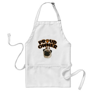 Proud Owner of a Pug Adult Apron