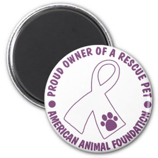 Proud Owner Of A Rescue Pet Magnet
