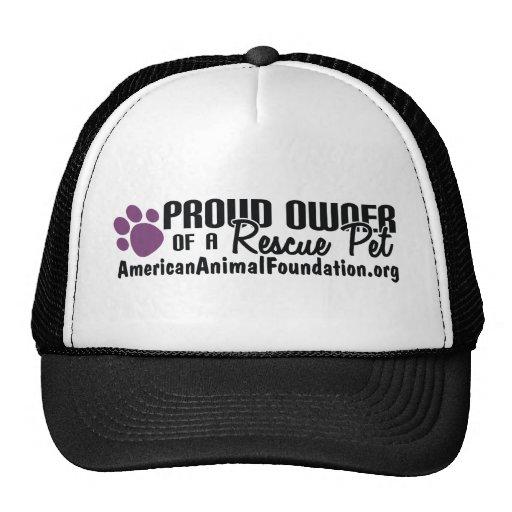 Proud Owner Of A Rescue Pet Trucker Hat
