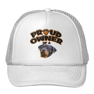 Proud Owner of a Rottweiler 2 Trucker Hat