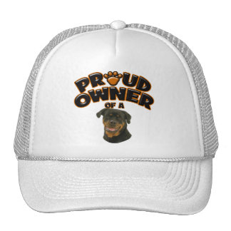 Proud Owner of a Rottweiler 3 Trucker Hat