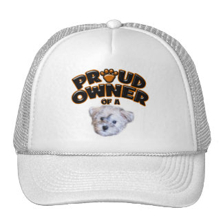 Proud Owner of a Schnoodle Trucker Hat