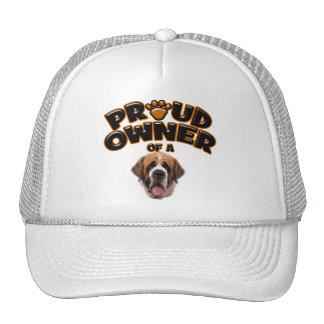 Proud Owner of a St Bernard Trucker Hat