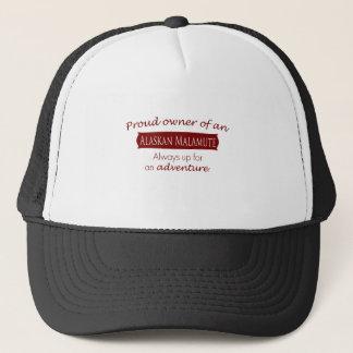 Proud Owner of an Alaskan Malamute Trucker Hat