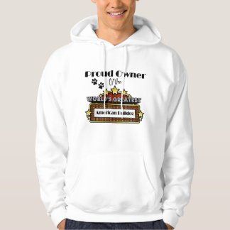 Proud Owner World's Greatest American Bulldog Hoodie
