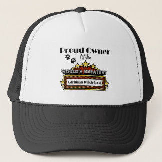 Proud Owner World's Greatest Cardigan Welsh Corgi Trucker Hat