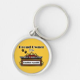 Proud Owner World's Greatest English Mastiff Keychain