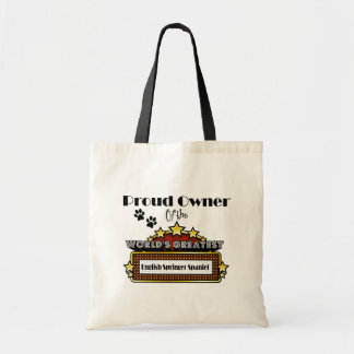 Proud Owner World's Greatest English Springer Span Tote Bag