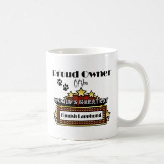 Proud Owner World's Greatest Finnish Lapphund Coffee Mug