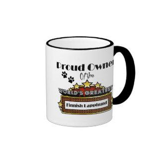 Proud Owner World's Greatest Finnish Lapphund Ringer Mug