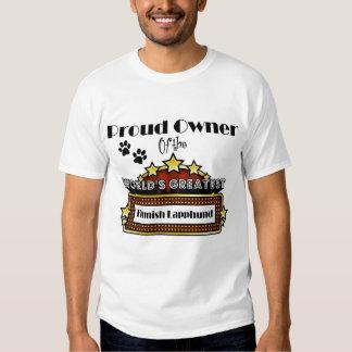 Proud Owner World's Greatest Finnish Lapphund T Shirt