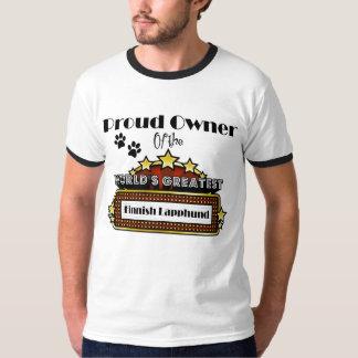 Proud Owner World's Greatest Finnish Lapphund T-shirt