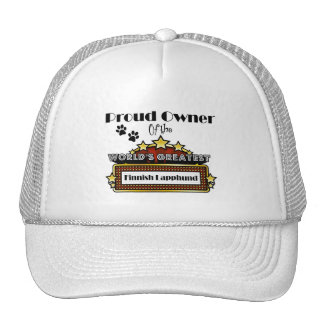 Proud Owner World's Greatest Finnish Lapphund Trucker Hat
