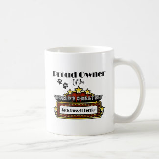 Proud Owner World's Greatest Jack Russell Terrier Coffee Mug
