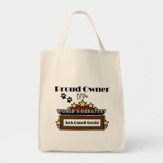 Proud Owner World's Greatest Jack Russell Terrier Tote Bag