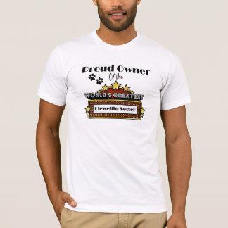 Proud Owner World's Greatest Llewellin Setter T-Shirt