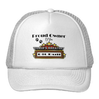 Proud Owner World's Greatest Pit Bull Trucker Hat