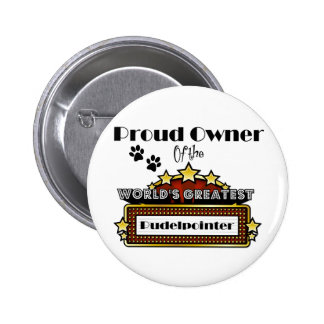 Proud Owner World's Greatest Pudelpointer Button