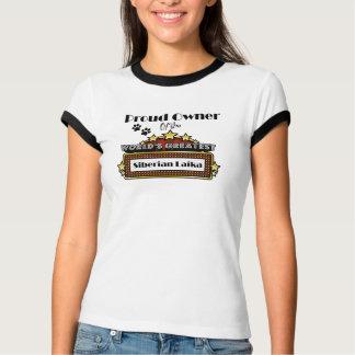 Proud Owner World's Greatest Siberian Laika T-Shirt