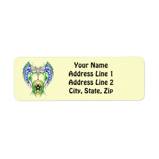 Proud Pagan Return Address Label