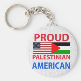 Proud Palestinian American Key Chains