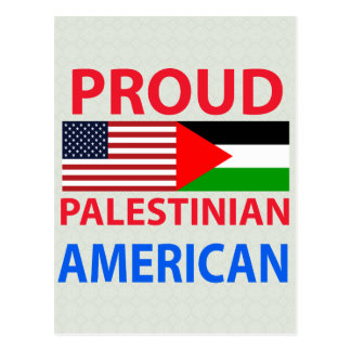 Proud Palestinian American Post Card