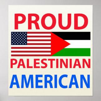 Proud Palestinian American Posters