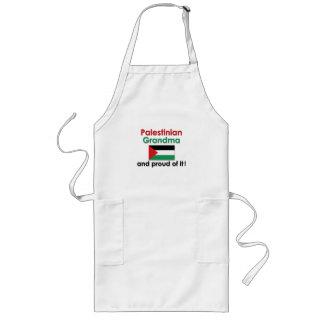 Proud Palestinian Grandma Long Apron