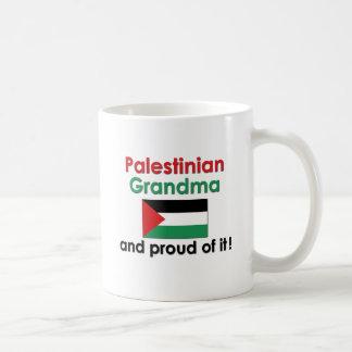 Proud Palestinian Grandma Classic White Coffee Mug
