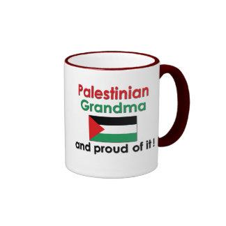 Proud Palestinian Grandma Ringer Coffee Mug