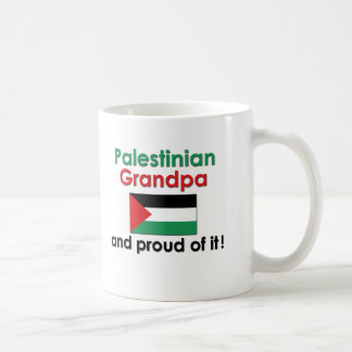 Proud Palestinian Grandpa Classic White Coffee Mug