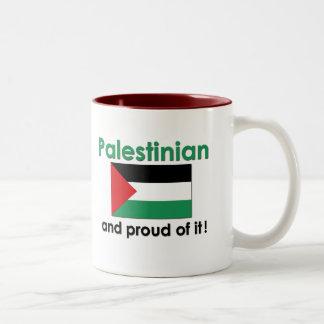 Proud Palestinian Two-Tone Coffee Mug